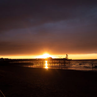 Sunset on Herne bay pier 1 - Photo original taken 02/09/2020