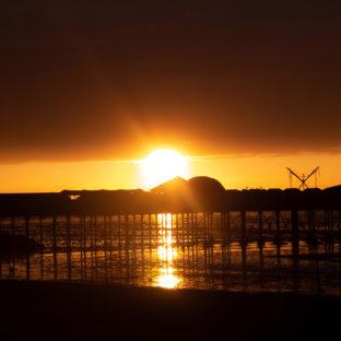 Sunset on Herne bay pier 2 - Photo original taken 02/09/2020