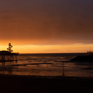 Sunset on Herne bay pier 3 - Photo original taken 02/09/2020